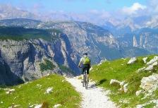 High Adventure tour Italy mountain biking