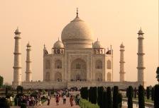 Touring the Taj Mahal in Agra