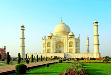 Beautiful Taj Mahal in India
