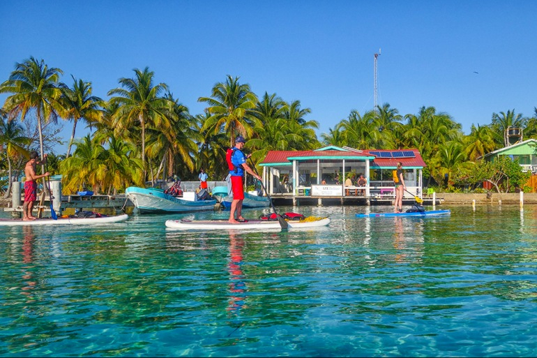 Coral Islands SUP with Norm Hann Expeditions tour