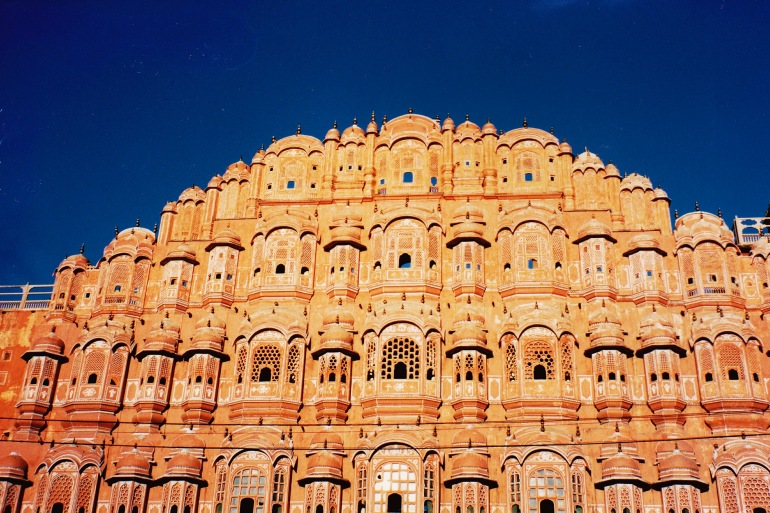 Famous Hawa Mahal of jaipur, India