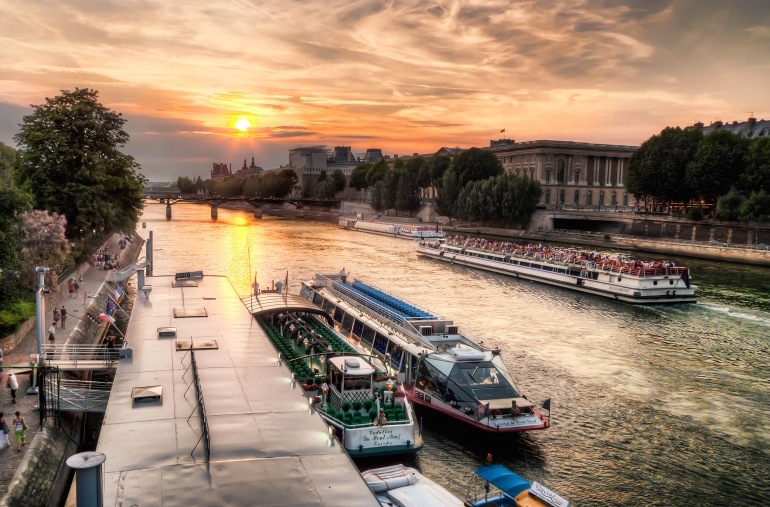 Seine River Sunset Cruise