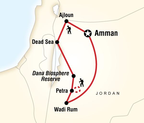 Amman Dead Sea Jordan Multisport Trip