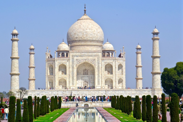 Beautiful Taj Mahal-India-866692-P