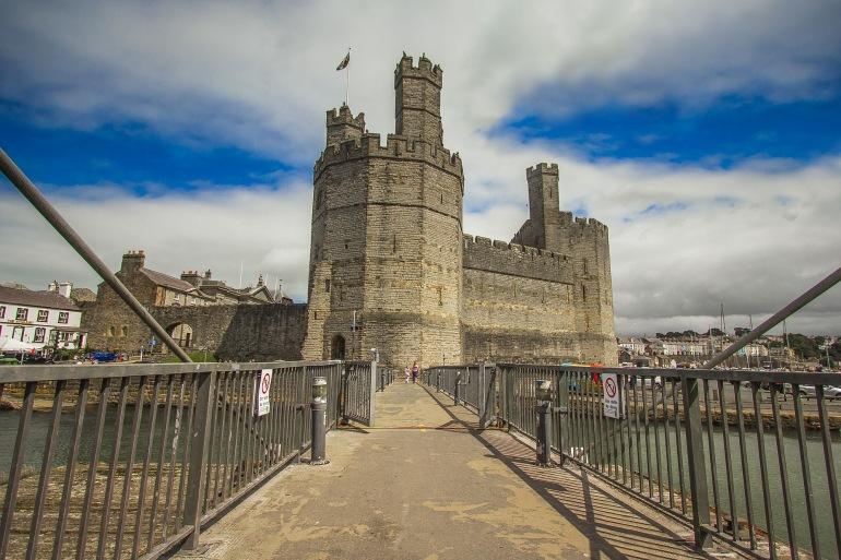 Caernarfon castle-Wales-1616159-P