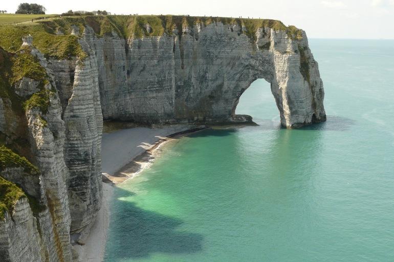 Erosion Limestone Normandy, France