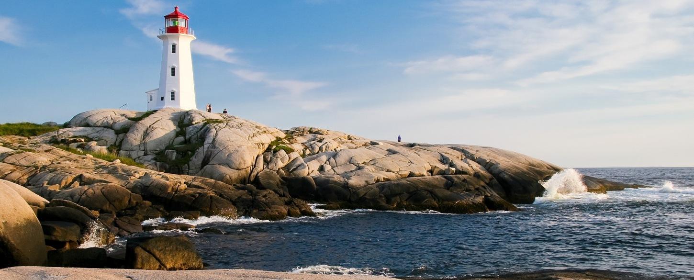Lighthouse Ocean sea coast travel_Canada_1872998_P