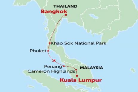 Thailand & Malaysia tour