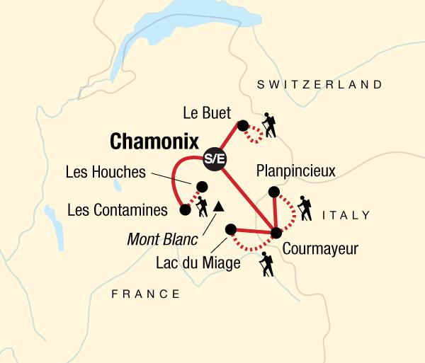 Adventure Hiking Mont Blanc Explorer package