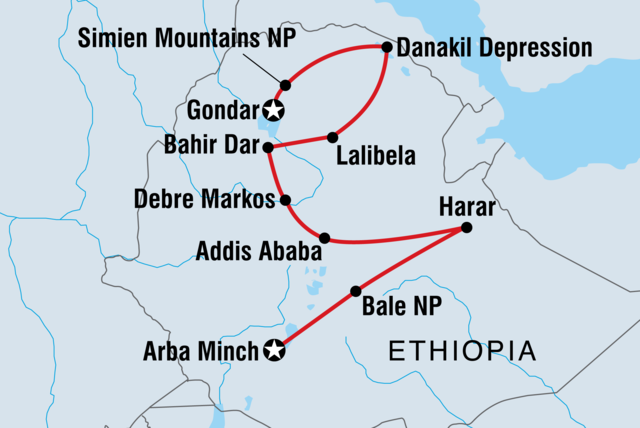 Ethiopian Explorer tour