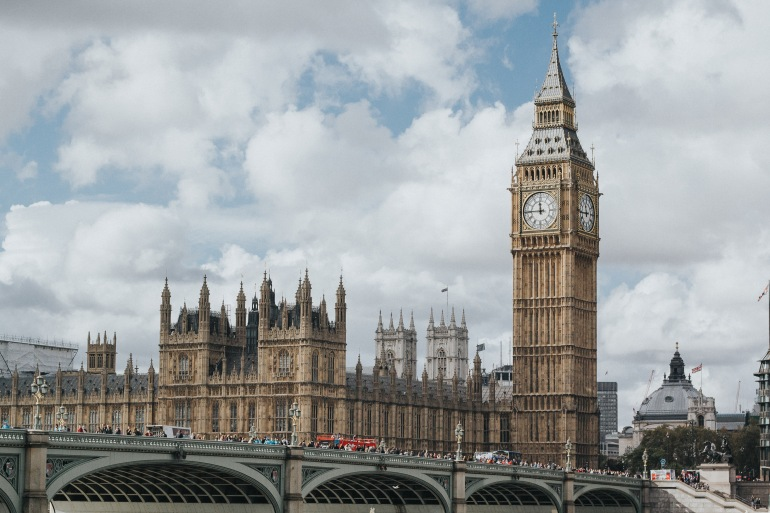 Big Ben and Parliment View of, London, United Kingdom