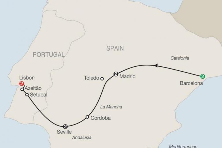 Barcelona Lisbon Highlights of Spain and Portugal Trip