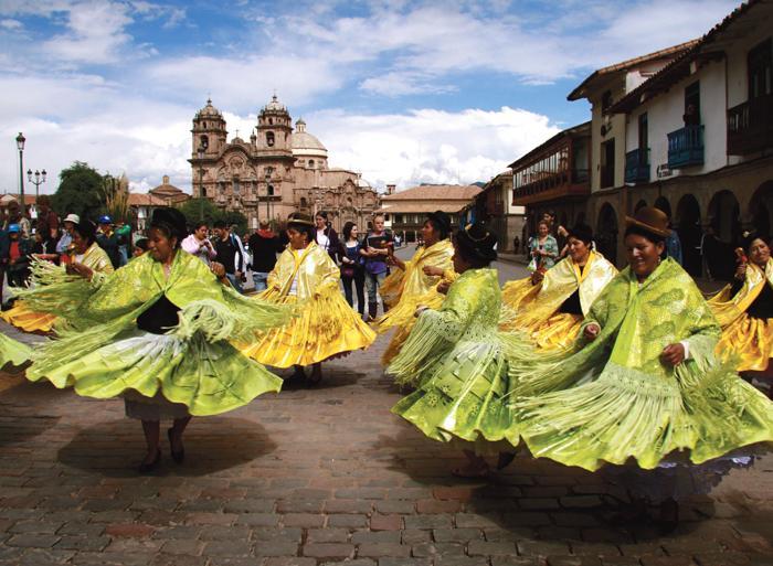 Aguas Calientes Copacabana Cuzco to La Paz Trip