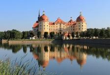 Visiting Moritzburg on a Germany tour