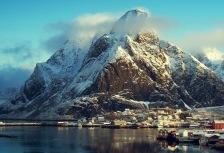 Norway tour, Reine Village