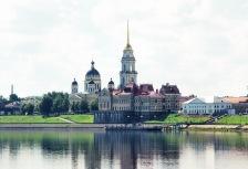 Volga River in Russia