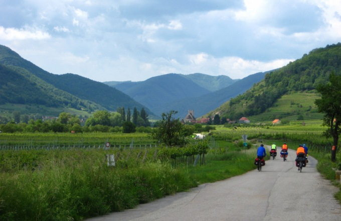 Vienna To Prague Family Biking tour