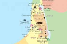 Israel Discovery (Winter 2017-18) tour