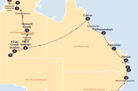 The Big Walkabout with Sailing (Start Sydney) (Until Mar 2019) tour