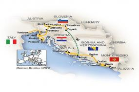 Adriatic Treasures: Croatia to Venice 2018 tour