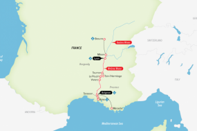 Burgundy & Provence tour