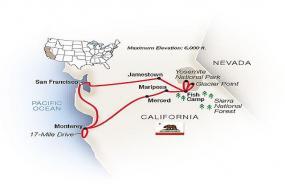 Majestic California: San Francisco, Yosemite & the Pacific 2018 tour