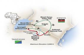 Kenya & Tanzania: A Classic Safari 2018 tour