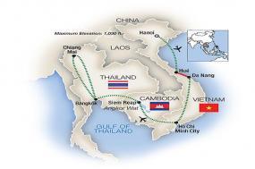 Vietnam, Cambodia & Thailand 2018 tour
