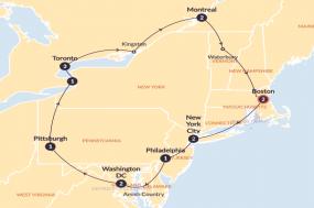 Eastern Escapade tour