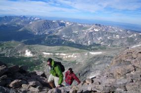 Rocky Mountain Long's Peak Backpacking