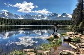 Rocky Mountain Thunder Lake Backpacking