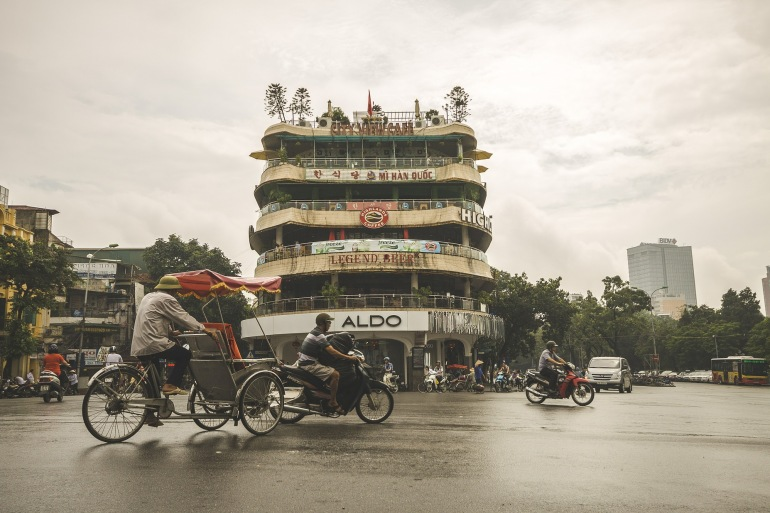 City view of Hanoi, Asia