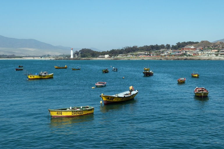 Costa Boats at Chile, South America