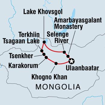 Transformative Festivals & Special Events Wild Mongolia package