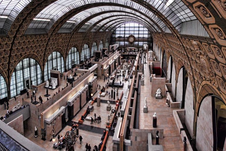 Orsay Museum view in Paris, Europe_P