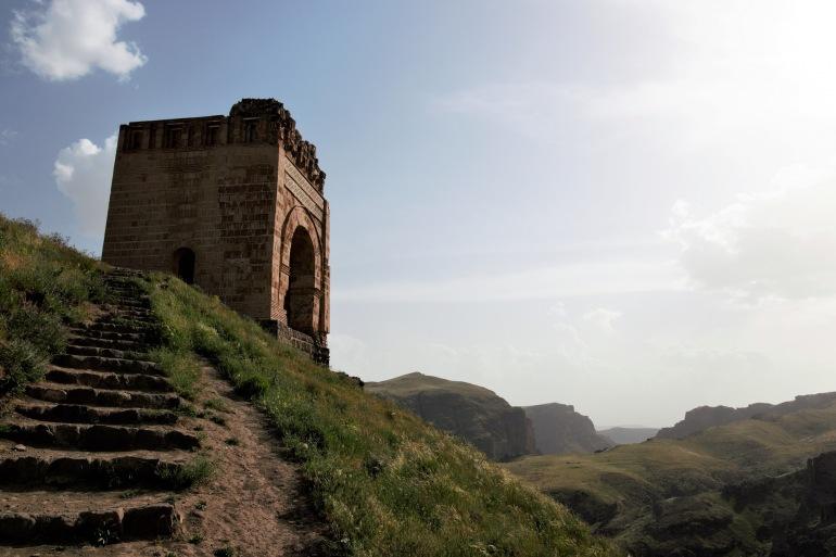 Zahhak Castle in Azerbaijan, Asia