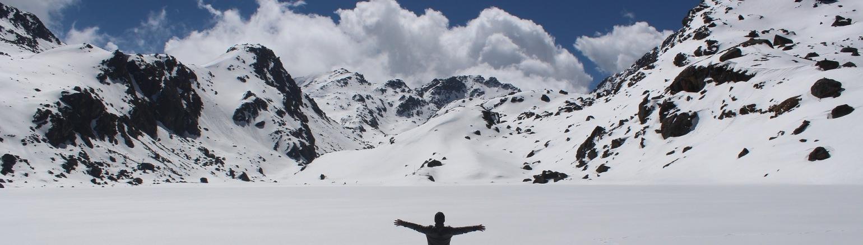 Trekking in HImalaya region, Nepal