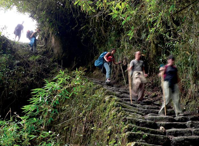 Aguas Calientes Copacabana La Paz to Cuzco Trip