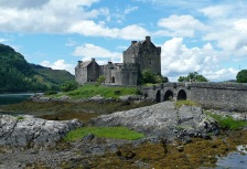 Scotland tour of Eilean Donan Castle