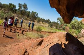 The Red Centre to Melbourne tour