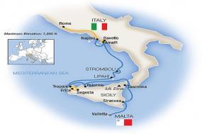 Sicily, the Amalfi Coast & Rome - Northbound 2018