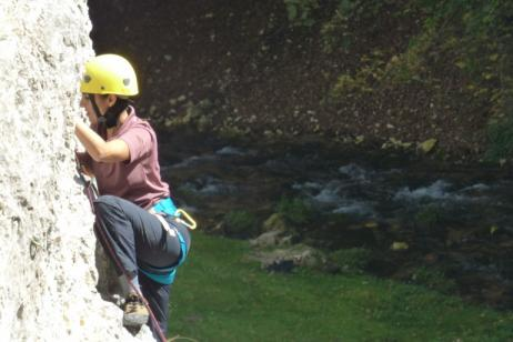Hiking, Sport climbing and Abseiling on King's Rock tour