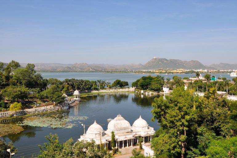 Lake City of Udaipur, India