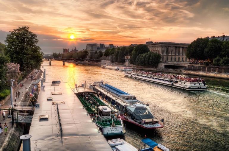 Seine River Sunset Cruise