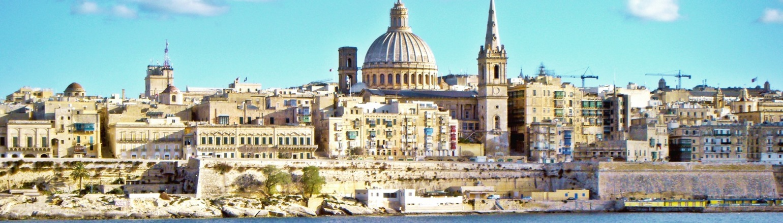 Valletta, capital city of Malta, top tourist attraction