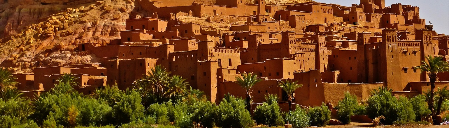 Morocco fortress, top tour attraction