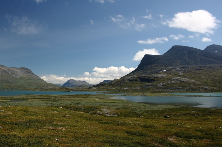 Mountains view at Sweden, Europe_P
