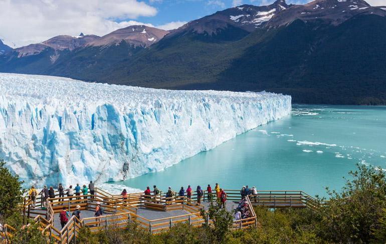 Babes in Perito Moreno