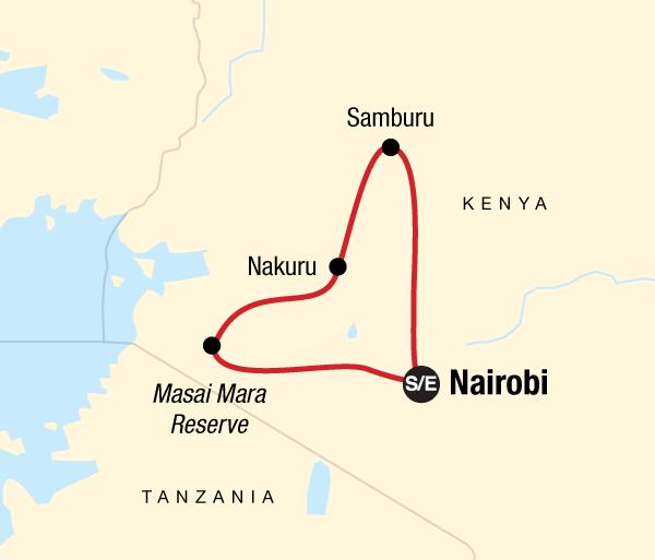 Lake Nakuru National Park Nairobi Kenya Camping Safari Trip