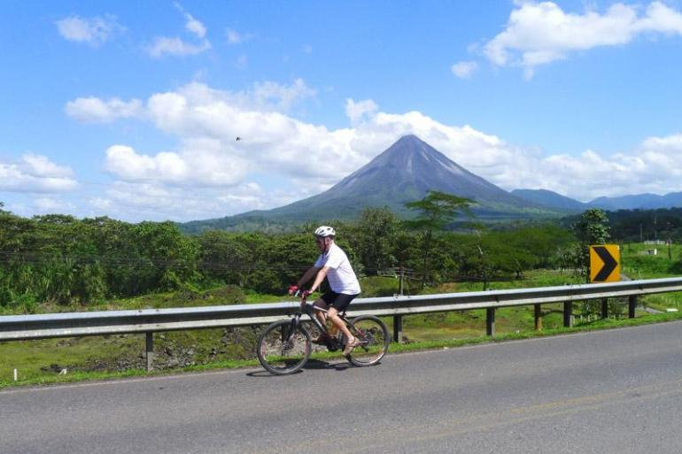 Arenal Volcano Caribbean Costa Rica on Two Wheels Trip